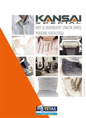 Kansai Kot ve Dekoratif Zincir Dikiş Makineleri